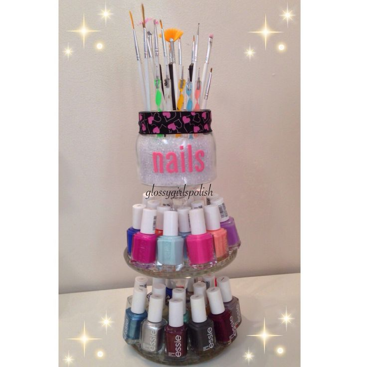 Nail Art Storage Ideas: 1000+ Images About Nail Polish + Tools Storage Solutions