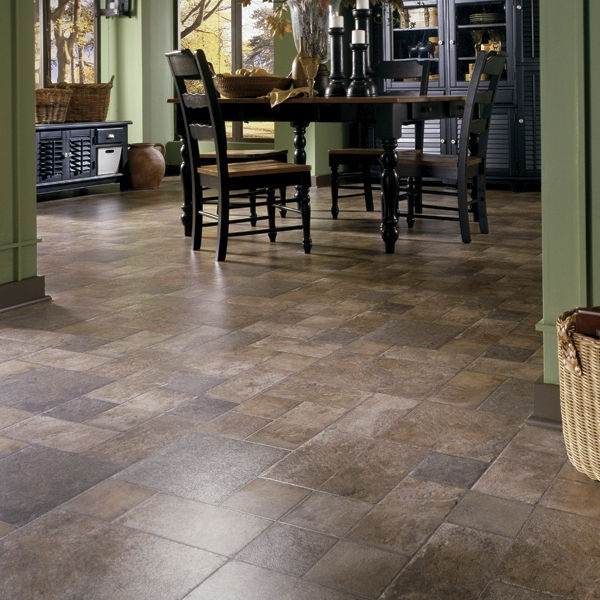 Laminate flooring stone real touch tuscan stone terra for Dupont flooring