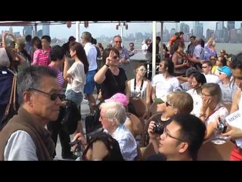 Beautiful boat trip around Manhattan New York - YouTube