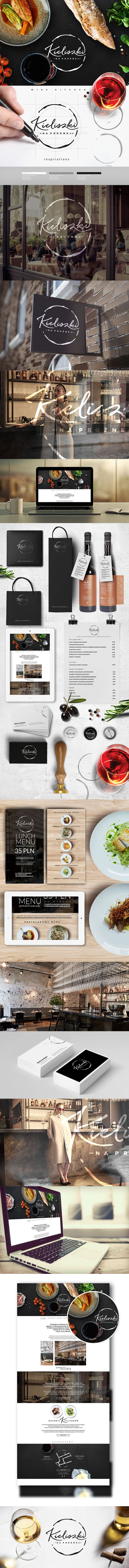 Kieliszki - restaurant on Behance