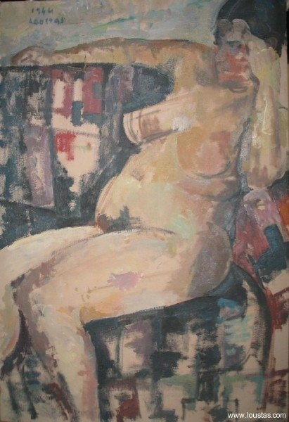 The artist's wife, oil on canvas, 1964, 91x61cm, private collection