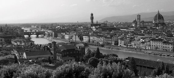 Piazzala Michelangelo Florence ( Firenze ) Toscane Italie