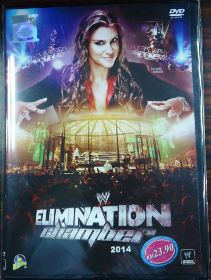 DVD WWE Wrestling Elimination Chamber 2014 No Escape Stephanie McMahon Region 0