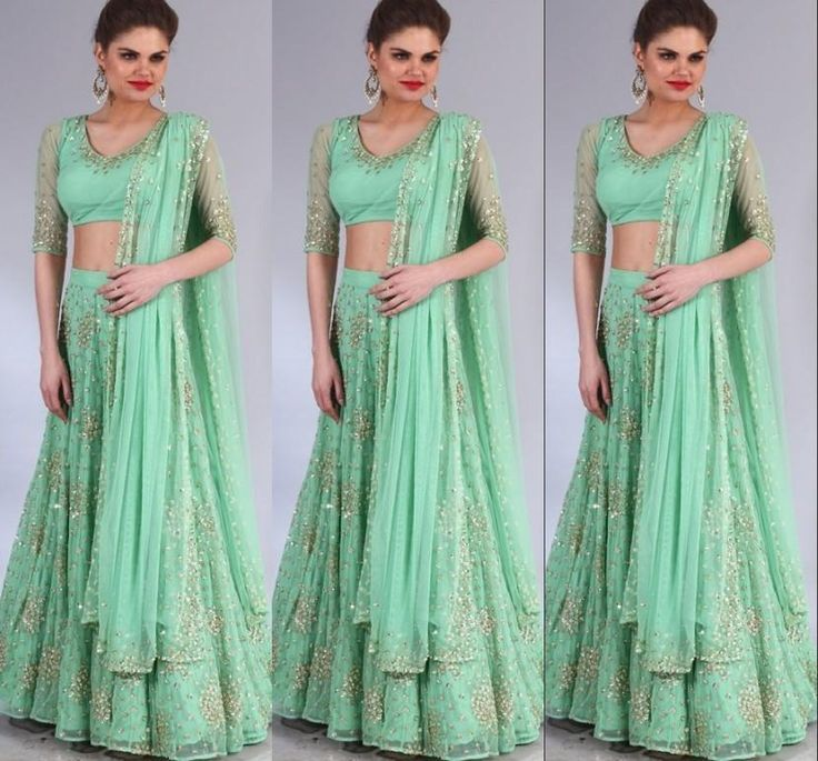 2015 Fashion Pakistani Dresses Green Bling Two Pieces Prom Dresses Sequins Formal Dresses With Sleeves Party Dresses V Neck Evening Dresses Online