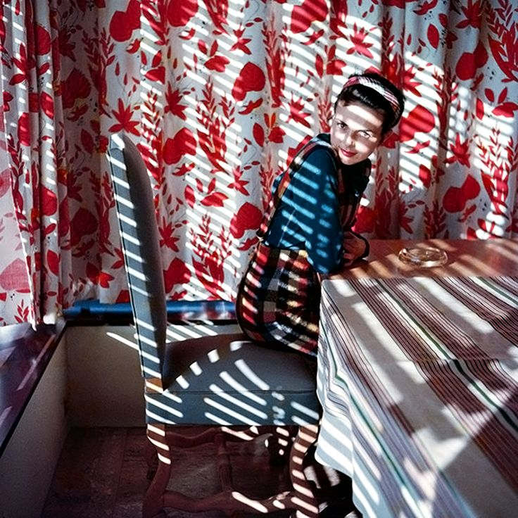 Florette, May 1954. Jacques Henri Lartigue.