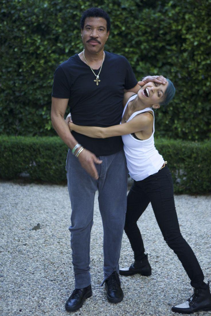 Lionel Richie and Christina Richie