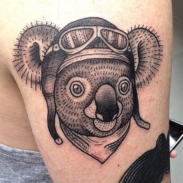75 best koala tattoo images on pinterest koalas koala tattoo and rh pinterest co uk koala bear tattoos cute koala tattoos