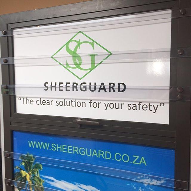 #clearburglarbar range from #Sheerguard #safety #security #burglarproofing