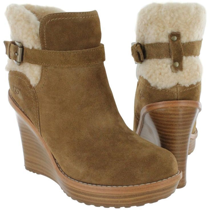 ugg boots ebay size 9 #cybermonday #deals #uggs #boots #female #uggaustralia #outfits #uggoutlet ugg australia UGG Australia Women's ANAIS chestnut wedge bootie ugg outlet