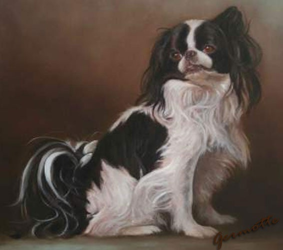Dog Painting from Germotte, #Artist #dog #painter in Ottawa Canada