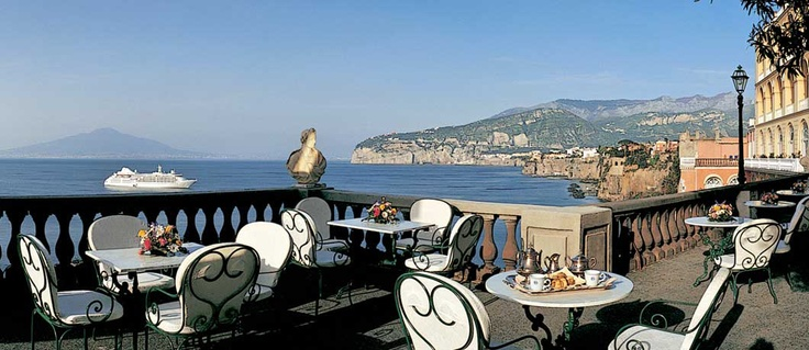 Awesome..Grand Hotel Excelsior Vittoria in Sorrento, Italy