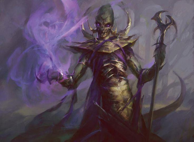 Sidisi, Undead Vizier - Dragons of Tarkir MtG Art