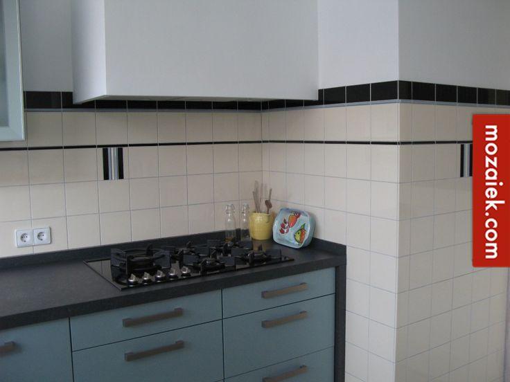 25 beste idee n over keuken wandtegels op pinterest open planken donkere keuken werkbladen - Keuken faience metro ...