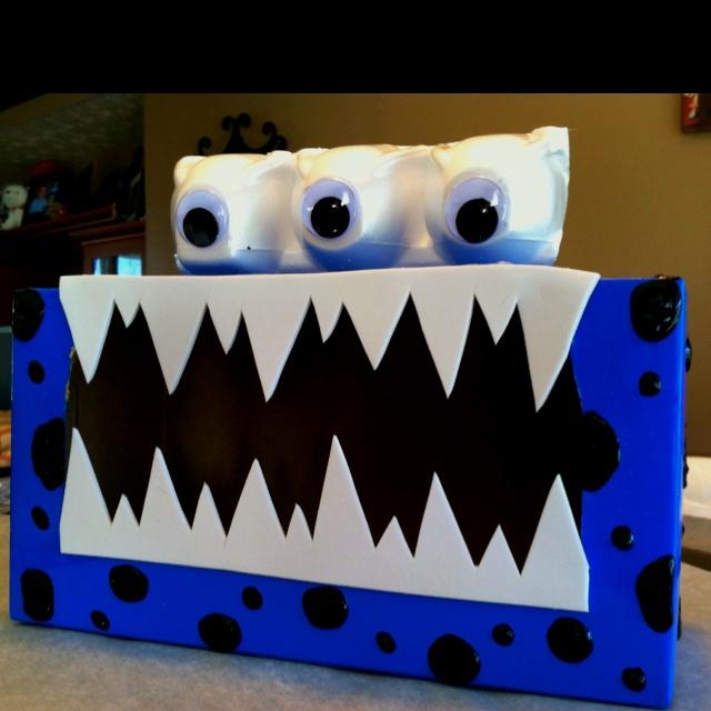 Boys Valentine Box & 91 best Farrellu0027s monster boxes images on Pinterest | Valentine ... Aboutintivar.Com