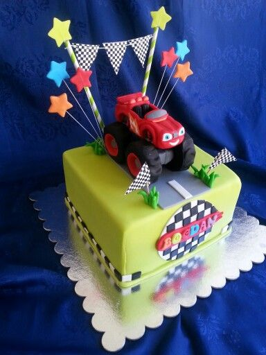 118 Best Cakes Blaze And The Monster Machine Images On