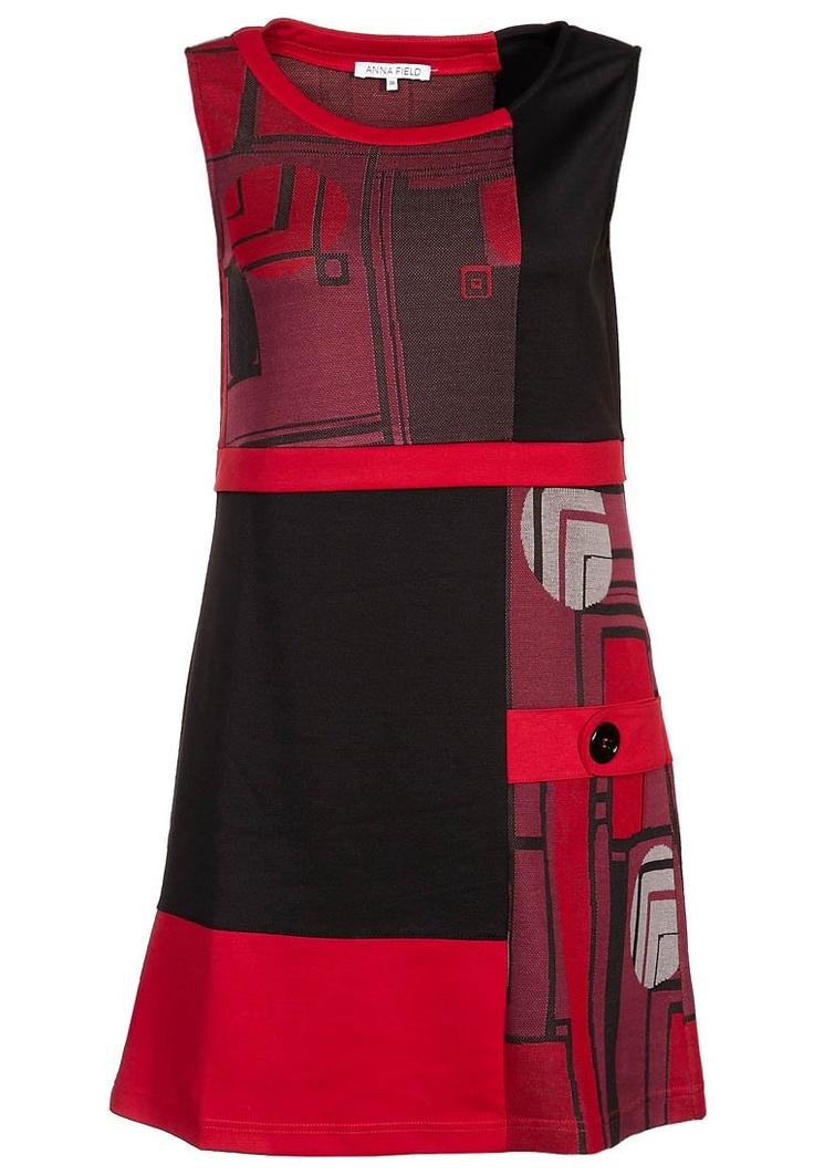 Jerseykjole - rød