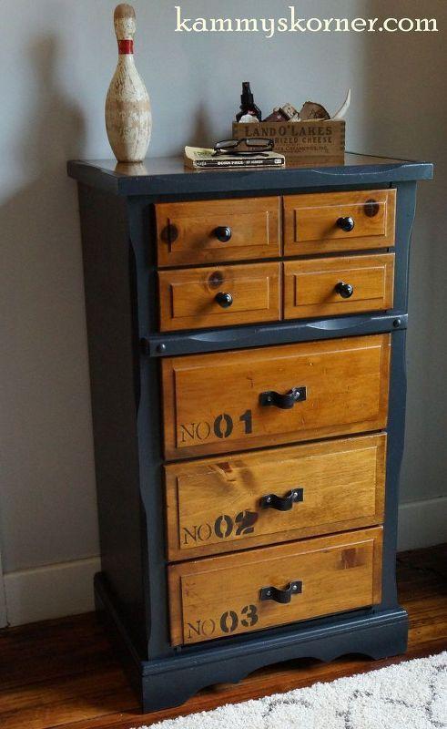 Dresser Makeover With A Belt. Boys FurnitureRedoing ...