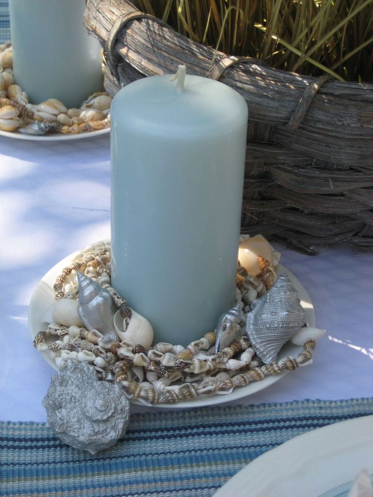 21 Best Images About Beach Themed Centerpieces On