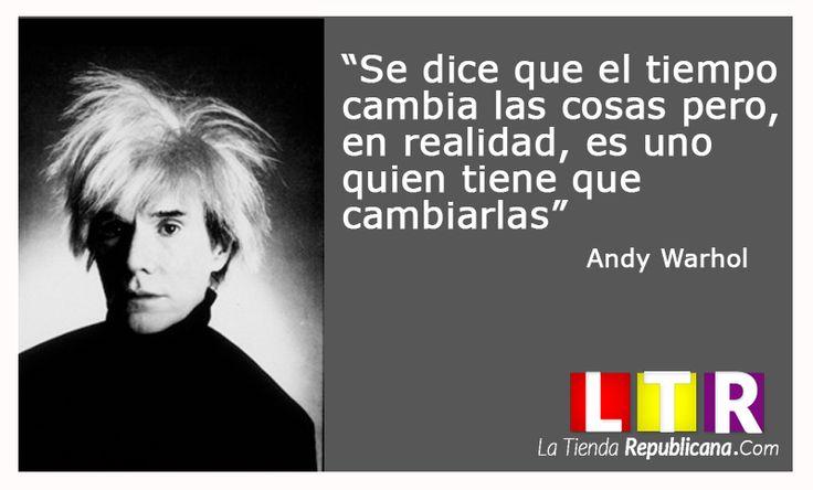 Andy Warhol. www.latiendarepublicana.com