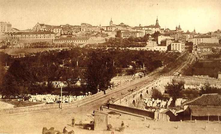 Puente de Segovia. 1862