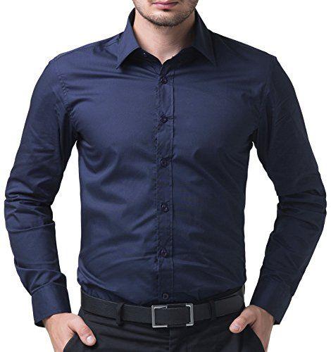 Fashion Navy Blue Dress Shirt Casual Cotton Button Down S... https://smile.amazon.com/dp/B00VHYVGPG/ref=cm_sw_r_pi_dp_x_Wjk1yb2Y9FR2R