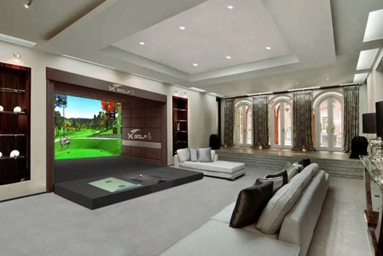13 Best Images About Cool Golf Simulator Setups On