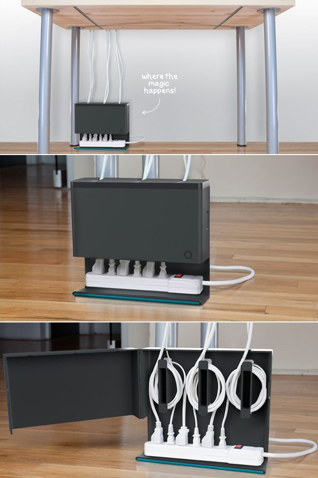 techlovedesign: Clear those cords!