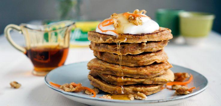 Sunne frokostlapper med smak av gulrotkake | Soft Flora