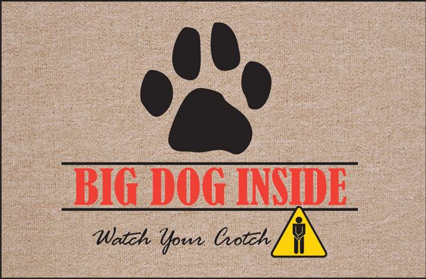 This funny doormat will be sure to deter unwanted visitors away.