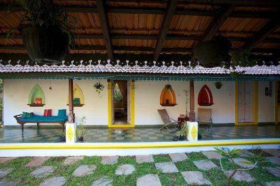 Arco Iris Boutique Homestay: Courtyard