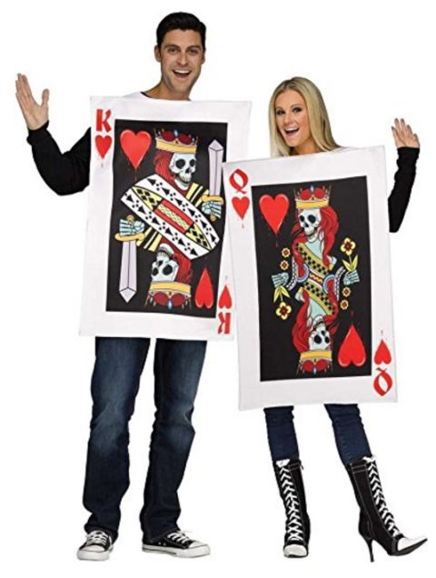 King and Queen of Hearts Adult Costume | 50 Couples Halloween Costume Ideas