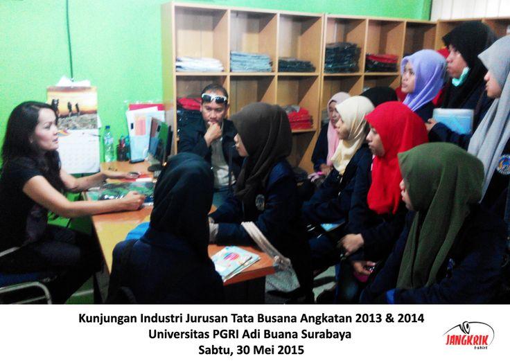 Kunjungan Universitas PGRI Adi Buana Surabaya
