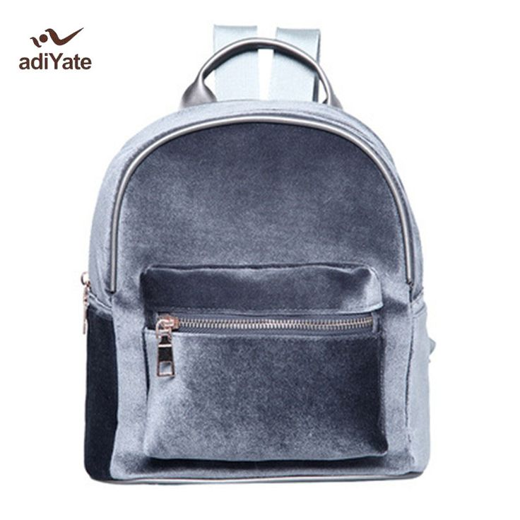 ADIYATE High Quality Velvet Backpack Sweet Lady Mini Small For Teenage Girl Lady Small Travel Backpack Women Velvet Bags 284. Yesterday's price: US $19.59 (16.05 EUR). Today's price: US $10.97 (9.07 EUR). Discount: 44%.