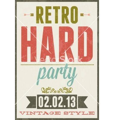 vintage poster typography - Buscar con Google