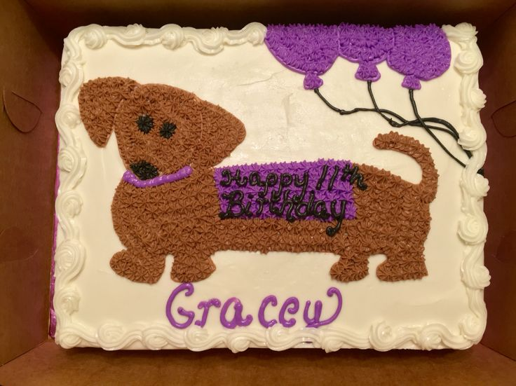 Images Of Birthday Cakes For Dogs
