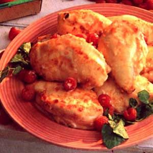 Raspberry Chicken Recipe...who wouldn't like raspberries in every course of your meal.