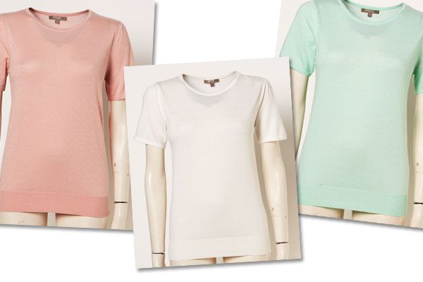 When I find something that I love, I get it in every colour. Which is what I did with the Inspyr Short Sleeve Knit Top. It's the perfect everyday basic for spring and so cute!