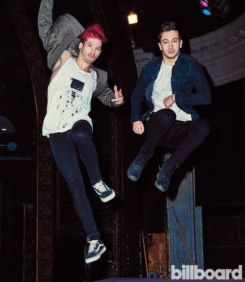 Twenty One Pilots: The Billboard Cover Shoot   Billboard