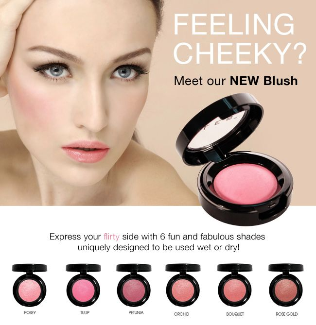 Choose the right blush shade for you with this guide http://www.elescosmetics.com/blog/blushing-beauty-101-how-to-select-and-apply-the-perfect-blush/ and Get the new ELES Baked Blush here  http://www.elescosmetics.com/boutique/Baked-Blush.html?utm_source=MailChimp&utm_medium=Email&utm_content=Jan-blush-01&utm_campaign=ELES  #ELES #Cosmetics #makeup #blush