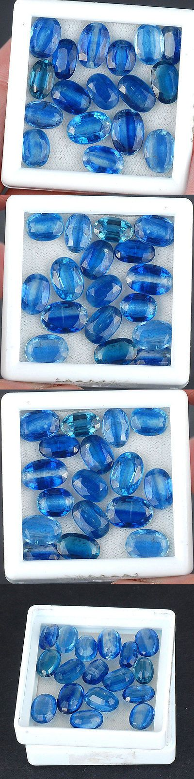Kyanite 110799: 34 Cts 17 Pcs Untreated Natural Kyanite Wholesale Finest Blue Oval Cut Gemstones -> BUY IT NOW ONLY: $44.99 on eBay!