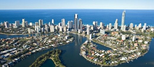 Gold Coast, Australia - venue for 2018 Commonwealth Games. The Gold Coast is a truly beautiful part of the world. Enjoying the lead up to the Games