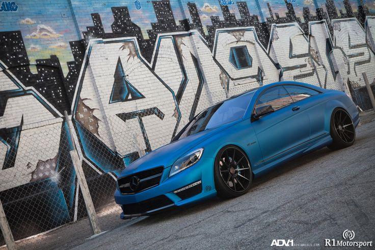 Royal 1 Motorsport Matte Blue Mercedes CL63 AMG