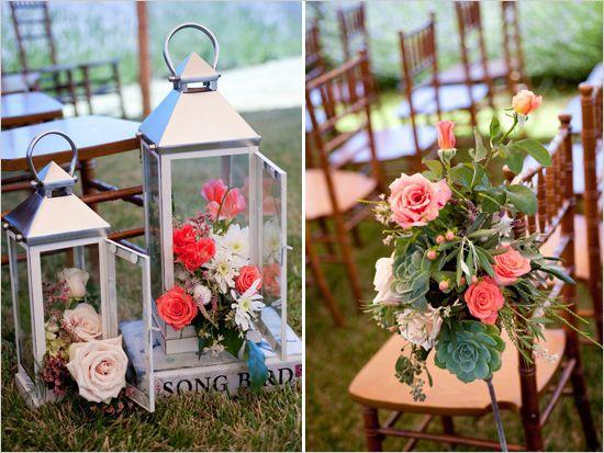 outdoor wedding ceremony decoration ideas