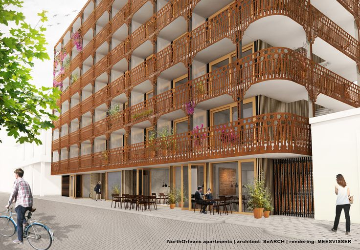 COMING SOON  A new development of 120 furnished rental apartments in the vibrant area of Amsterdam North