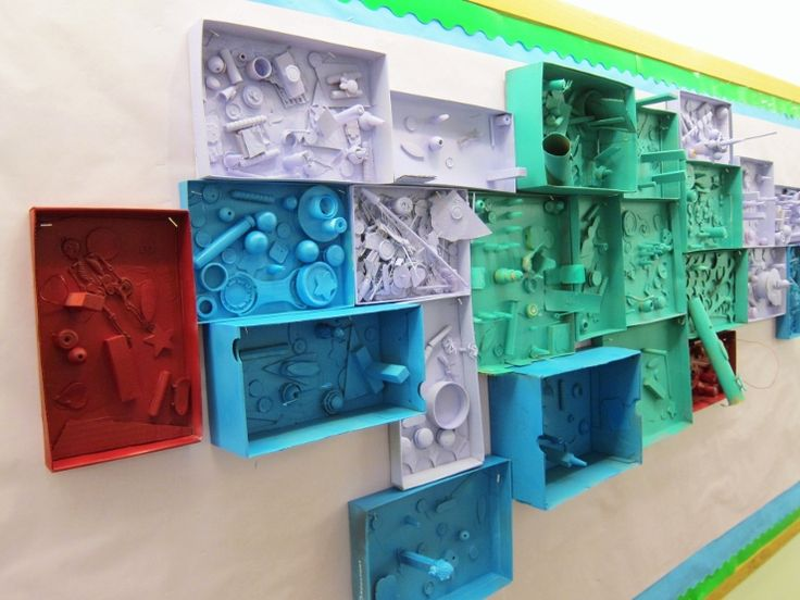 Making an Assemblage & Learning about Louise Nevelson