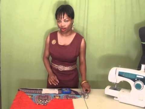 Cómo cortar telas resbaladizas como la gasa, el satén, organza, seda y utilizando un pañuelo de papel como estabilizador! Gran idea y funciona!