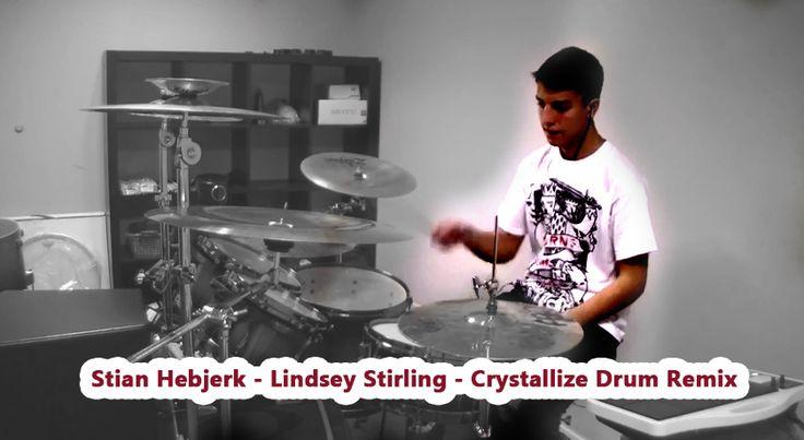 Sweet music http://www.youtube.com/watch?v=GtQ57DbXVfA #lindsey #stirling #lindseystirling #crystallize #drum #remix #stian #hebjerk #stianHebjerk #musikk