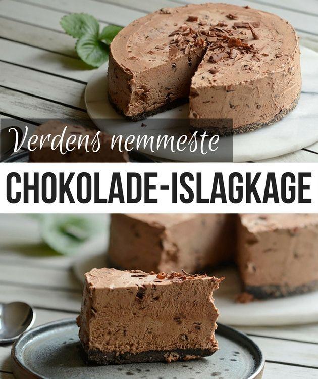 Med bare 6 ingredienser må det her være verdens nemmeste chokolade-islagkage.