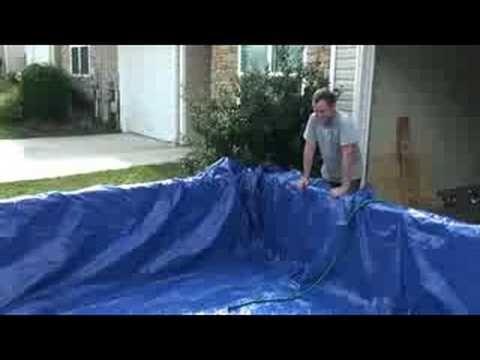 Homemade pool - YouTube