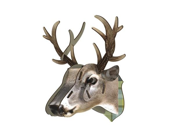 """Das Hirschgeweih """"King Deer"""" und weitere Geweihe als Wohnobjekte von MIHO sind online bei brave flower erhältlich Hirschgeweih """"King Deer"""" - nachhaltige Geschenkideen . authentische Wohnaccessoires . fair schenken . Eco brave flower"""